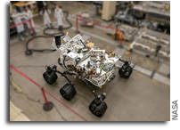 NASA Readies Perseverance Mars Rover's Earthly Twin
