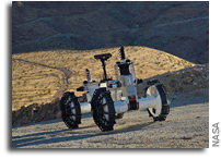Transforming Rover Can Explore the Toughest Terrain