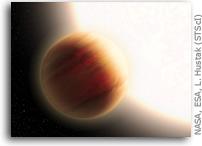 WASP-79b Has Yellow Skies And Iron Rain