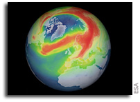 An Unusual Ozone Hole Opens Over The Arctic