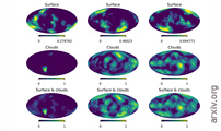 Planet Cartography With Neural Learned Regularization