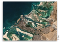 Earth from Space - Abu Dhabi