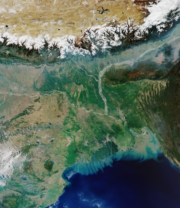Earth from Space: Ganges Delta