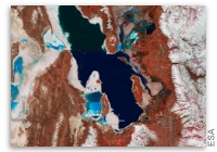 Earth from Space: Great Salt Lake, Utah