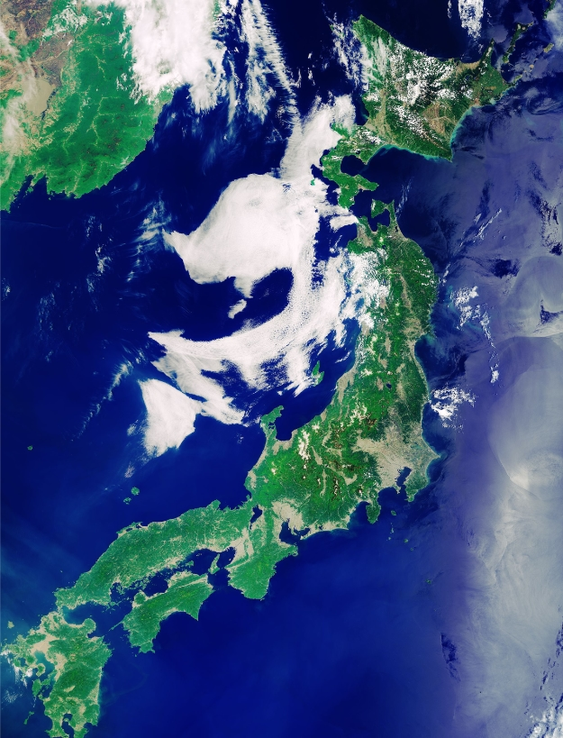 Earth from Space: Japanese Archipelago