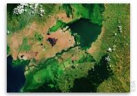 Earth from Space: Lake George, Uganda
