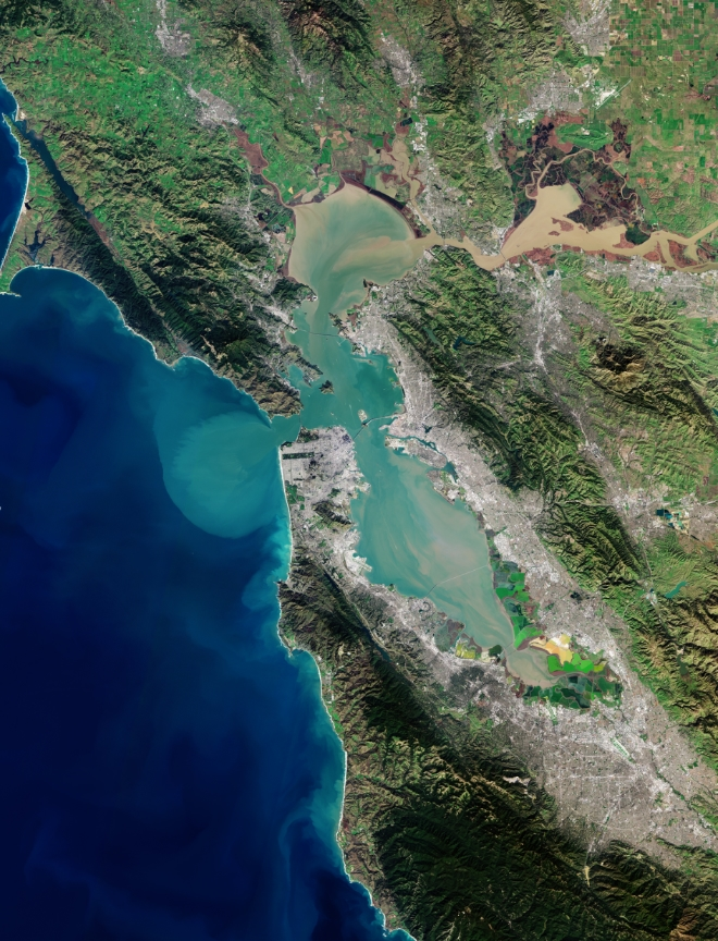 Earth from Space: San Francisco Bay