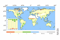 Greening of the Earth Mitigates Surface Warming