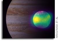 Active Volcanoes Feed Io's Sulfurous Atmosphere