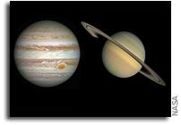 Where Were Jupiter And Saturn Born?