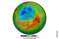 Arctic Stratospheric Ozone Depletion Hit A Record Low in March