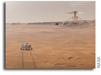How NASA's Mars Helicopter Will Reach the Red Planet's Surface