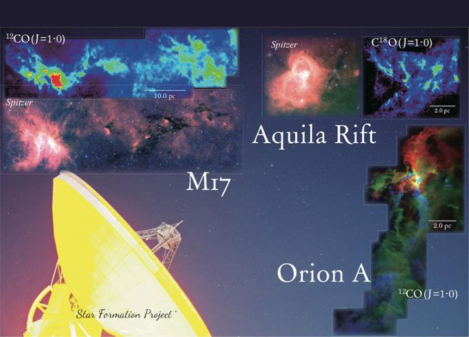 Star Formation Project Maps Nearby Interstellar Clouds