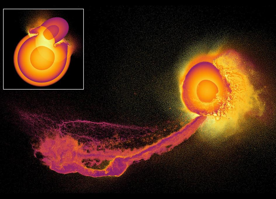 Supercomputer Reveals Atmospheric Impact Of Gigantic Planetary Collisions