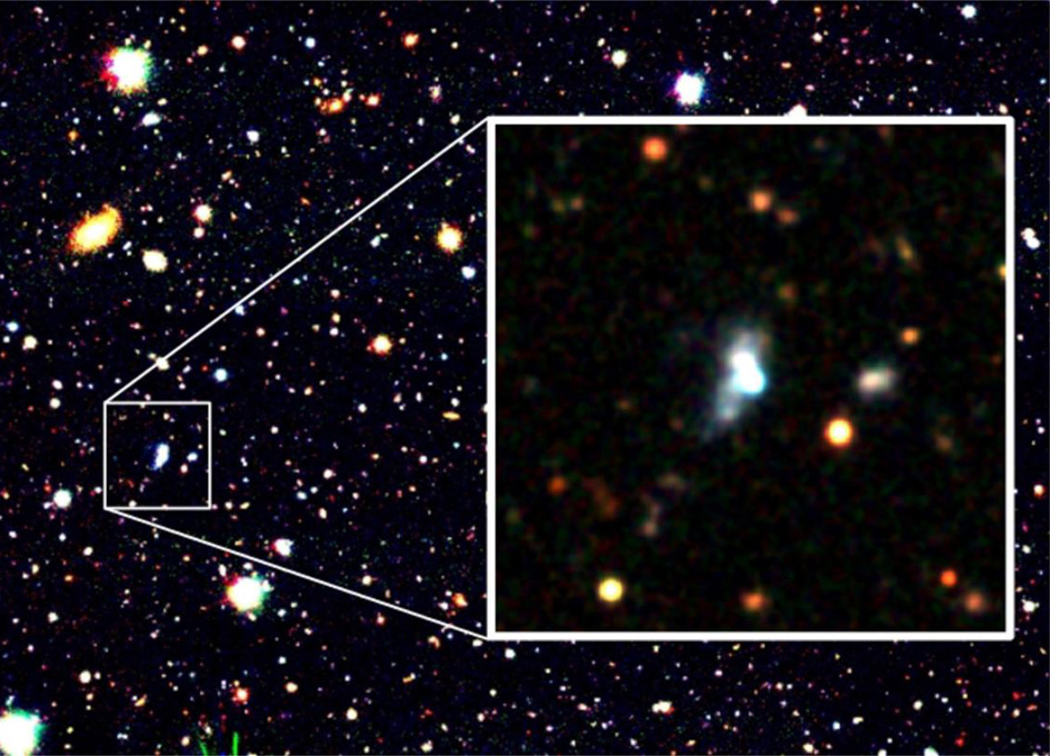 Surprisingly Young Galaxy Breaks Low-Oxygen Record