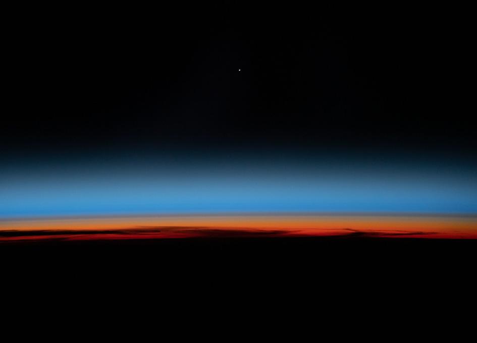 The First Rays Of An Orbital Sunrise