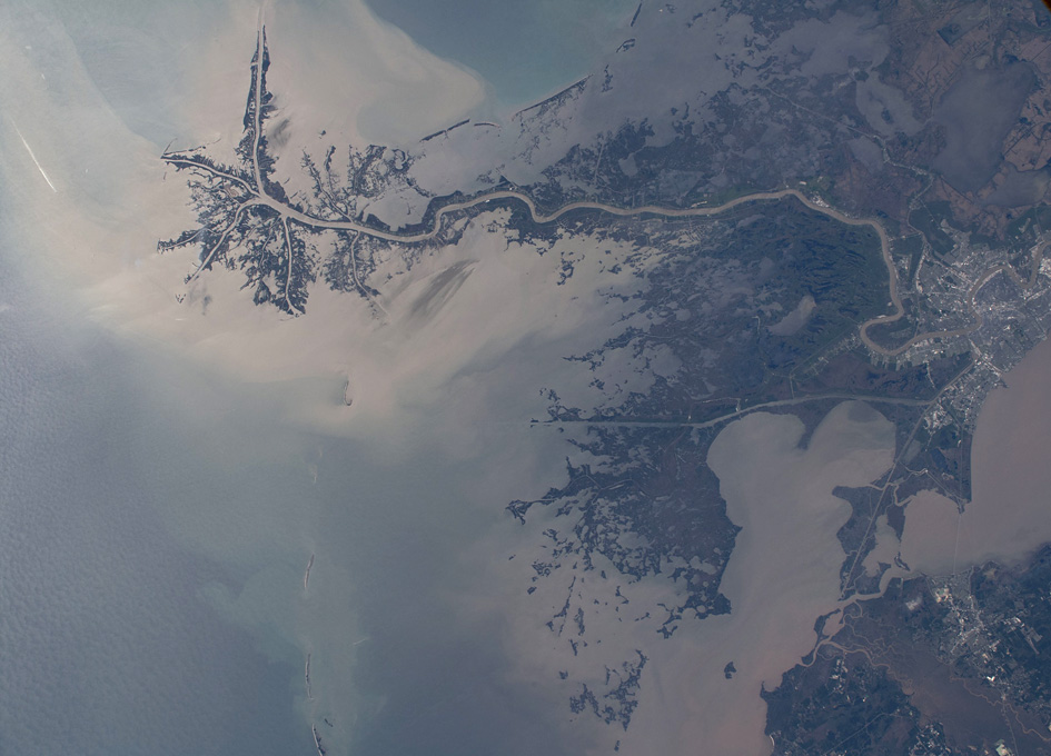 New Orleans As Seen From Orbit