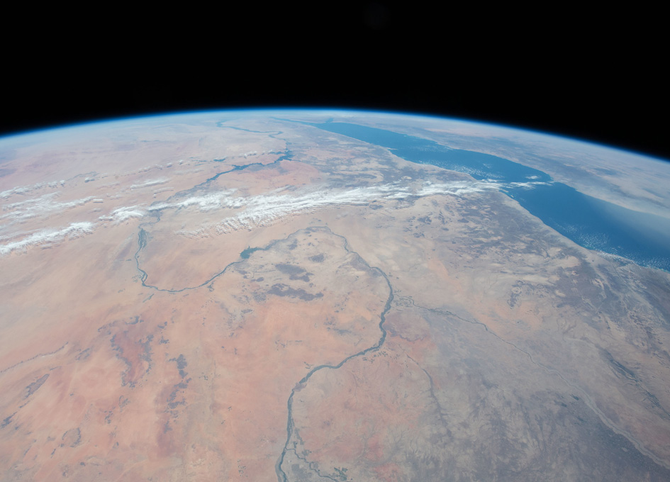 The Nile River Seen From Orbit