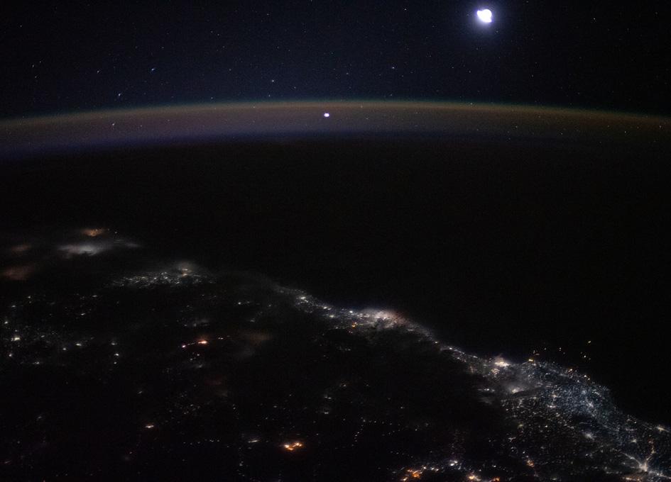 City Lights From Mumbai to Goa Seen From Orbit