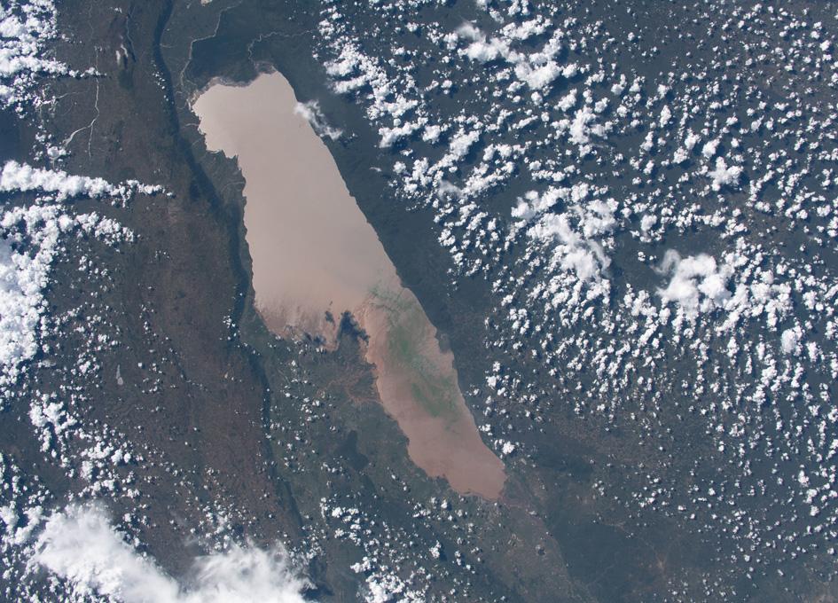 Lake Rukwa In Tanzania Seen From Orbit