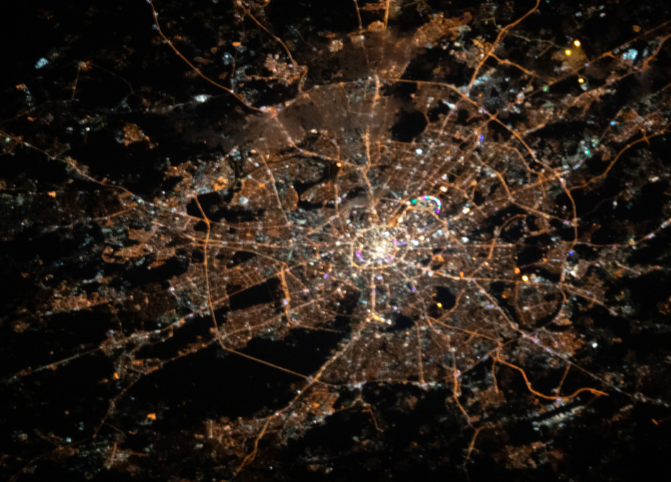 Moscow As Seen From Space