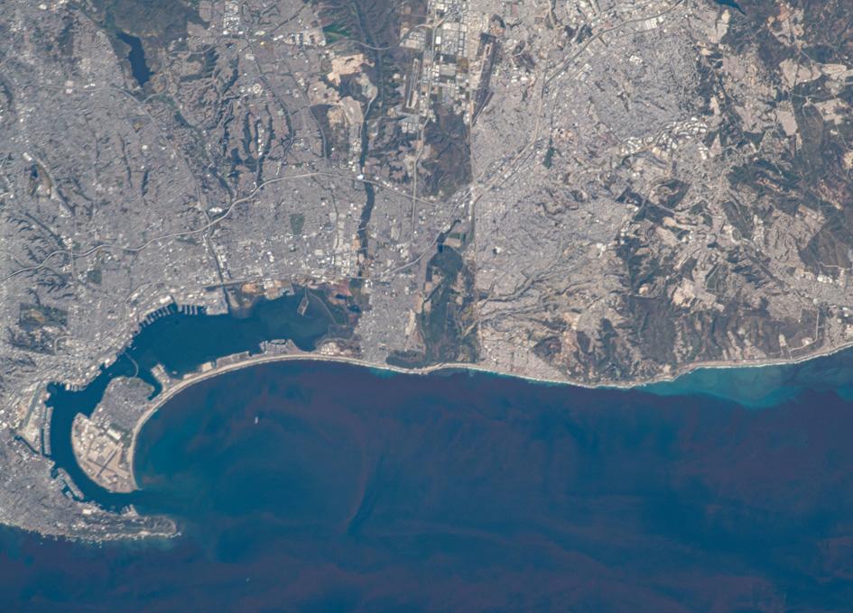 San Diego Bay Seen From Orbit