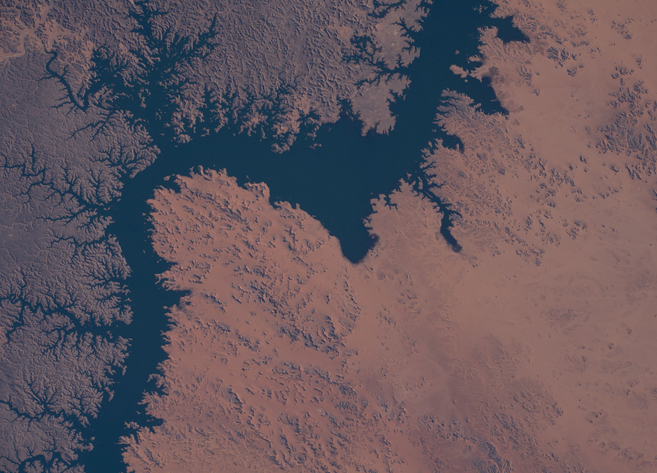 Lake Nasser As Seen From Orbit