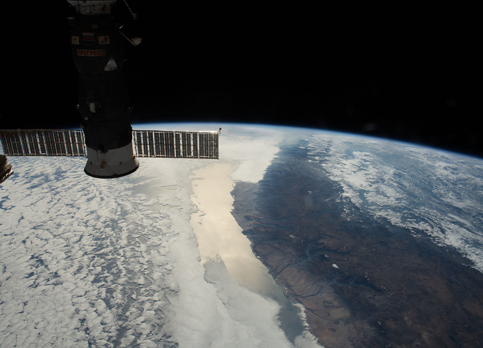 The Coast Of Chile Seen From Orbit