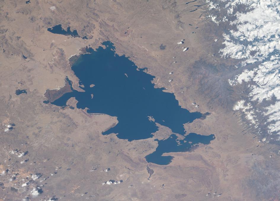 Lake Titicaca Viewed From Orbit