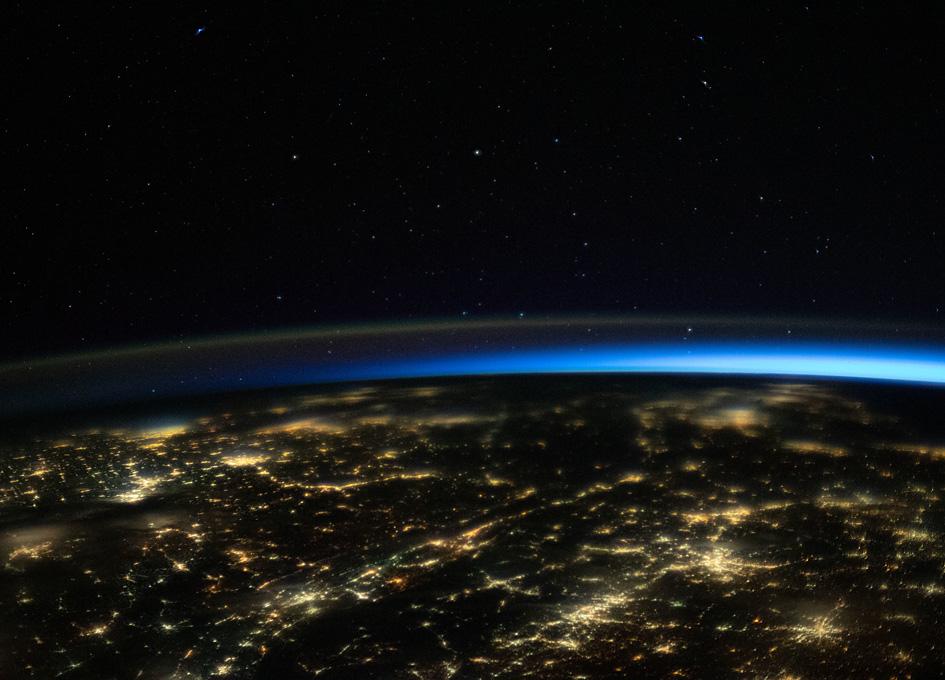 Orbital View Of Southeastern U.S. At Night