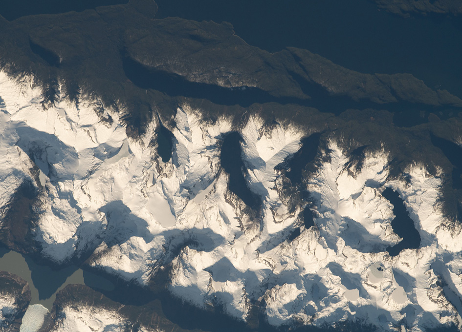 The Andes Viewed From Orbit