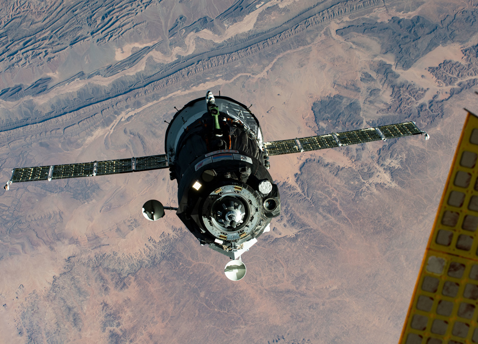 Soyuz MS-17 Approaches The Space Station