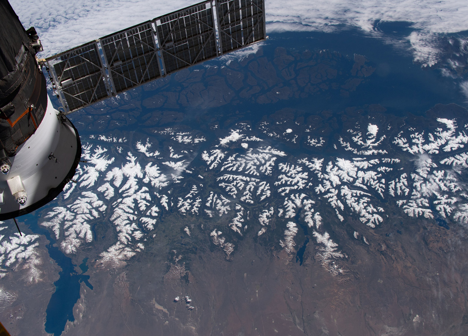 The Andes As Seen From Orbit
