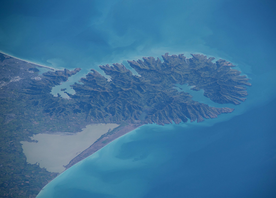 Christchurch, New Zealand As Seen From Space