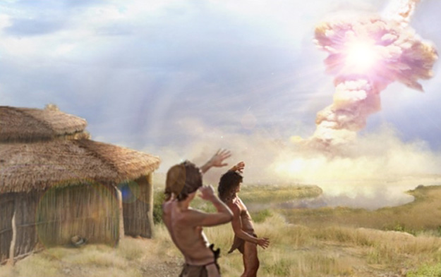 Ancient human settlement 'was destroyed by comet 12,800 years ago'