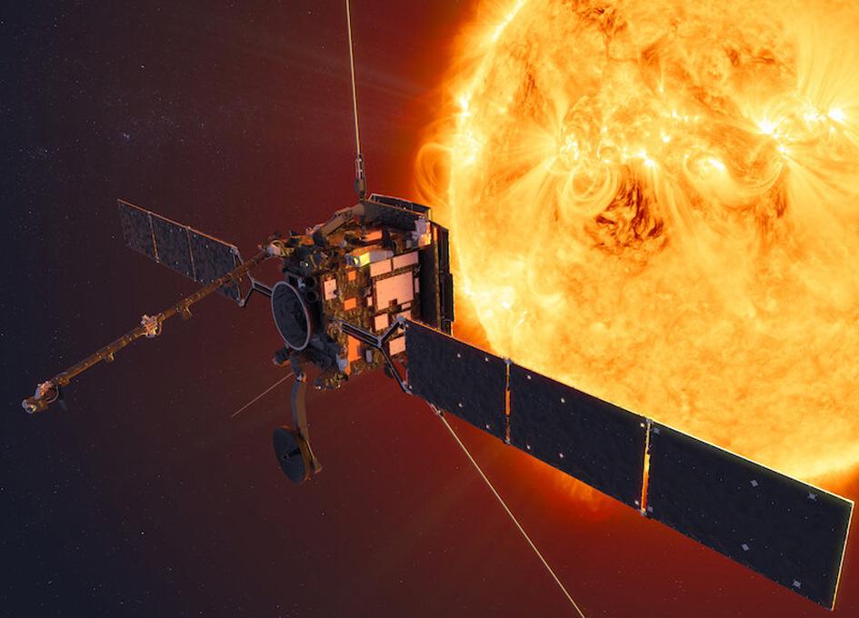 Solar Orbiter Will View The Sun's Poles