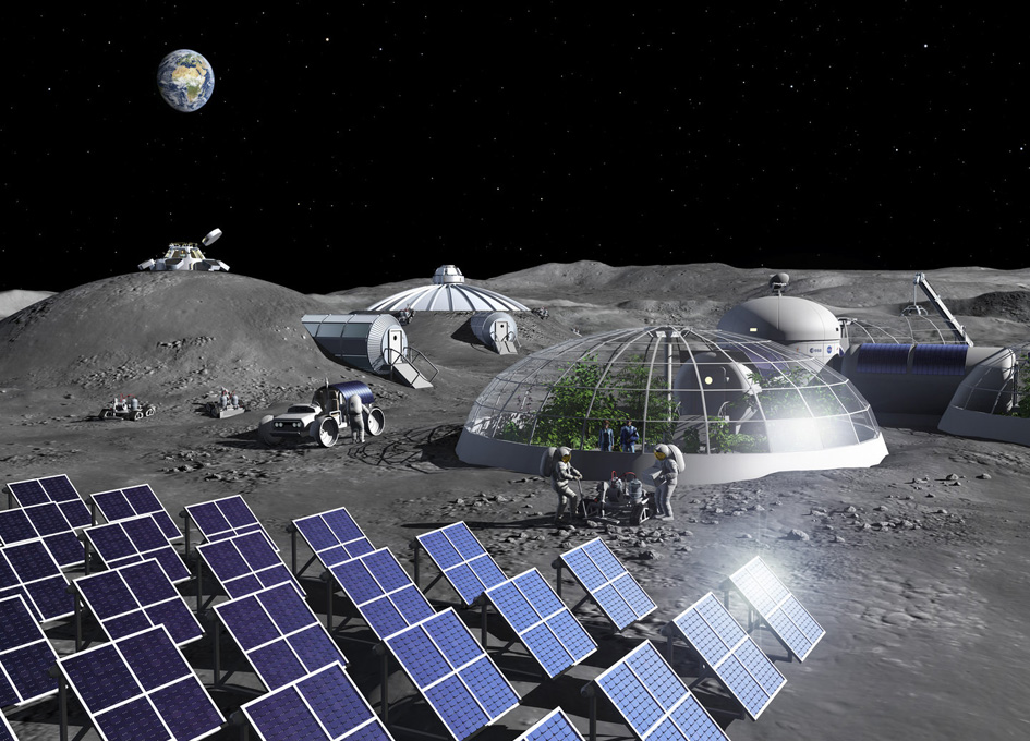 ESA Opens An Oxygen Plant That Makes Air Out Of Moondust