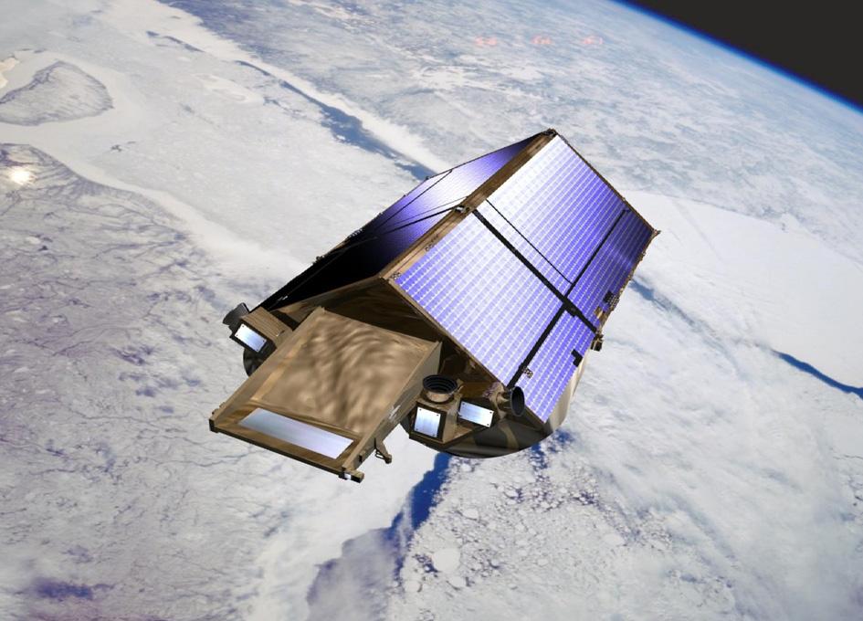 CryoSat Sheds New Light On Antarctica's Biggest Glacier
