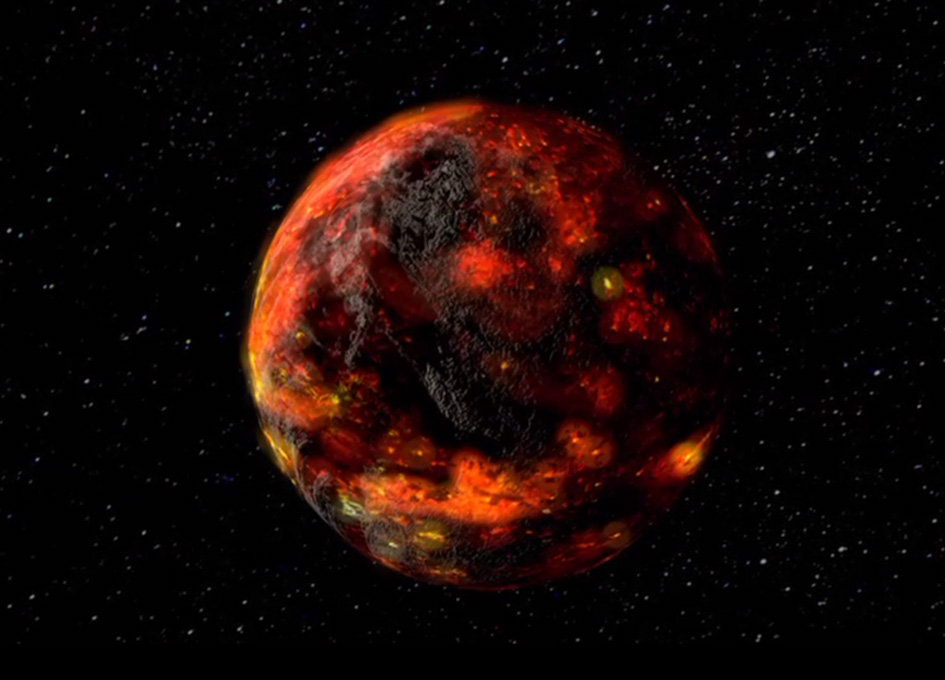The Thermal Evolution Of The Early Moon