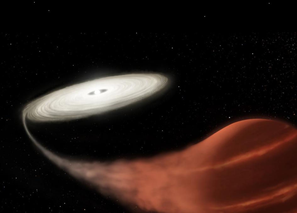 Astronomers Spot 'Vampire' Star Sucking Life from Victim