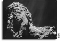 Comet 67P/Churyumov-Gerasimenko Has An Aurora