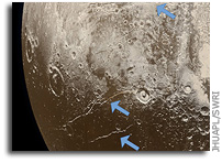 Evidence for Hot Start And Early Ocean Formation on Pluto