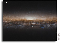Hubble Captures NGC 5907 - The Knife Edge Galaxy