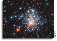 Hubble Views Globular Cluster NGC 1805