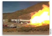 This Week at NASA: Artemis Rocket Booster Test Fire and More