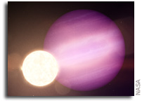 The First Possible Planet Hugging A White Dwarf Star