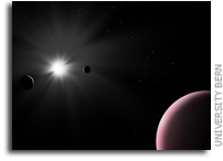 Unique Exoplanet Photobombs CHEOPS Study Of Nearby Star System