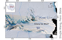 ICESat-2 Reveals The Shape And Depth Of Antarctic Ice Shelf Fractures