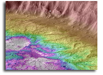 A New Type Of Ancient Crater Lake On Mars