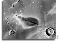 火星上的火山可能是活跃的,增加了近期宜居条件的可能性